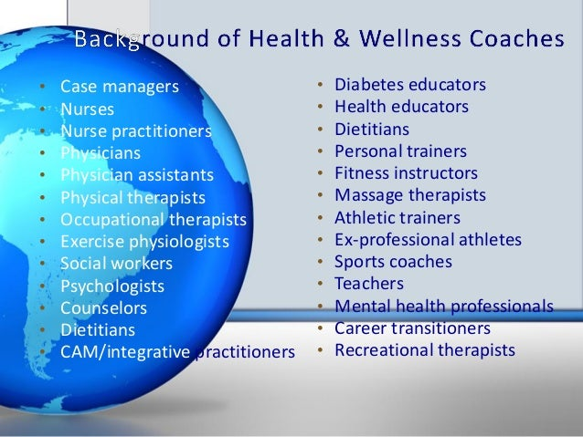 Developing Standards & Credentialing for Health & Wellness ...