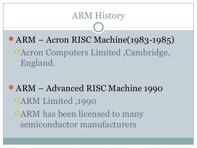 advance risc machine Sifive secures $85 million series b funding to advance risc-v based semiconductors everywhere platform – designed for microcontroller, embedded, iot and wearable applications – and its freedom unleashed platform – for machine learning, storage and networking applications – in july 2016.