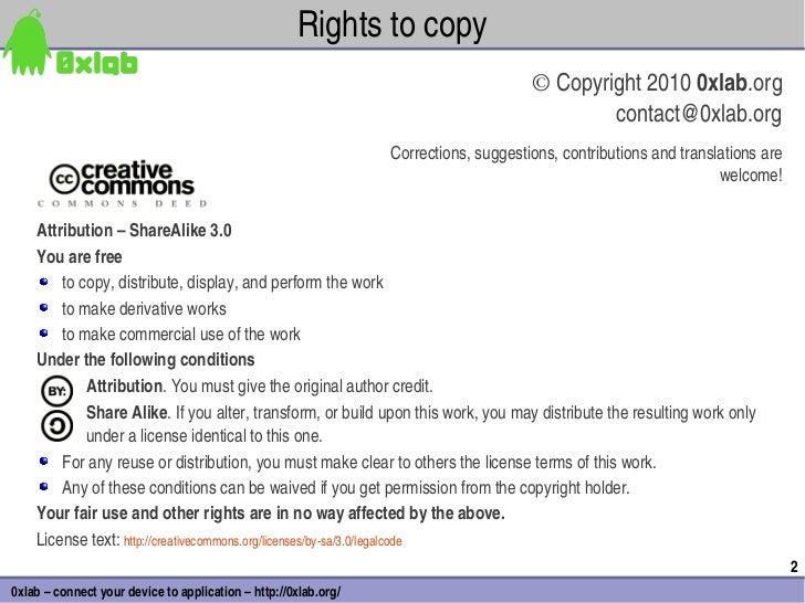 Rightstocopy                                                                                      ©Copyright20100xlab...