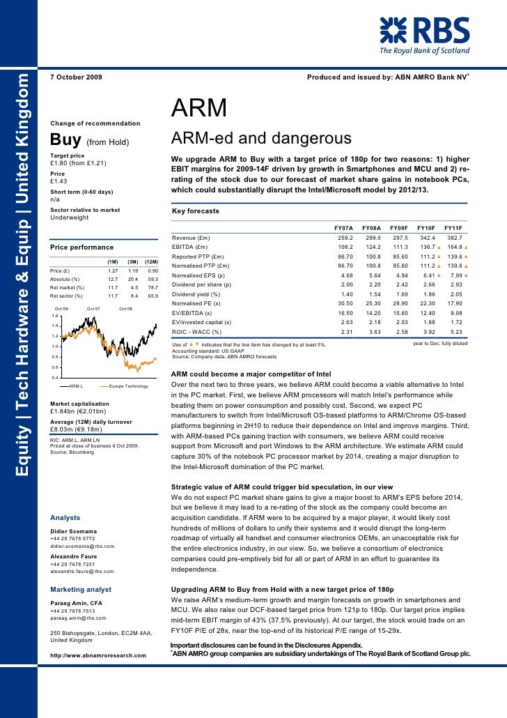 Produced and issued by: ABN AMRO Bank NV+ Equity | Tech Hardware & Equip | United Kingdom                                 ...