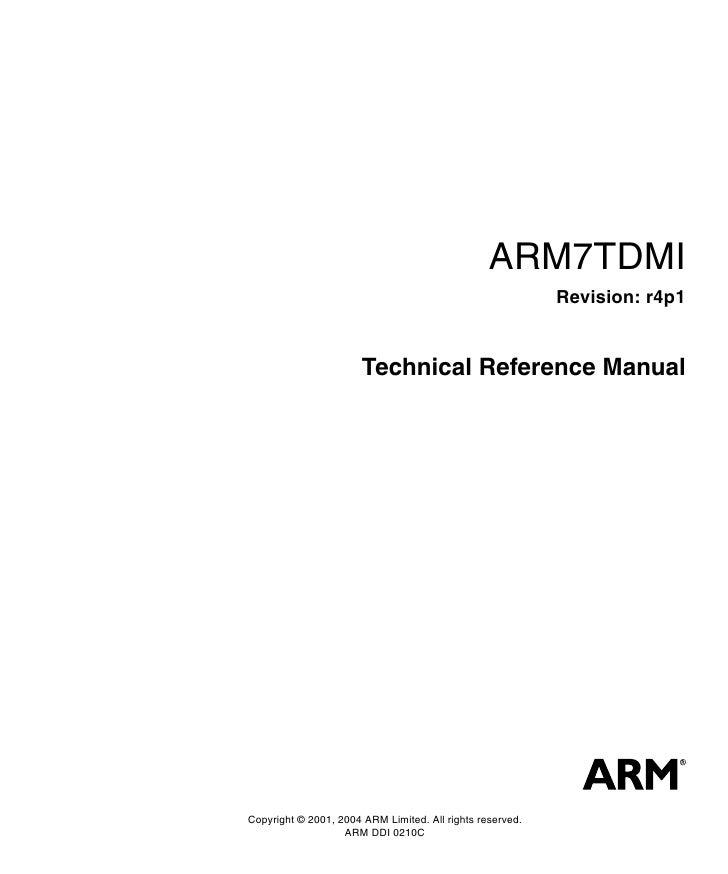 arm7 rh slideshare net arm r5 technical reference manual arm technical reference manual cortex-a9