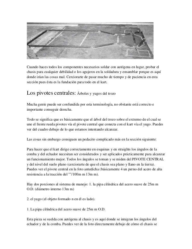 Go kart manual de construccion y armado pdf whitedagor for Manual de construccion de albercas pdf