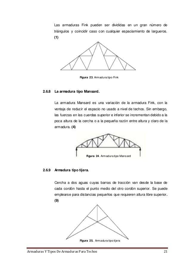 Armaduras y tipos de armaduras para techos for El dibujo de los arquitectos pdf