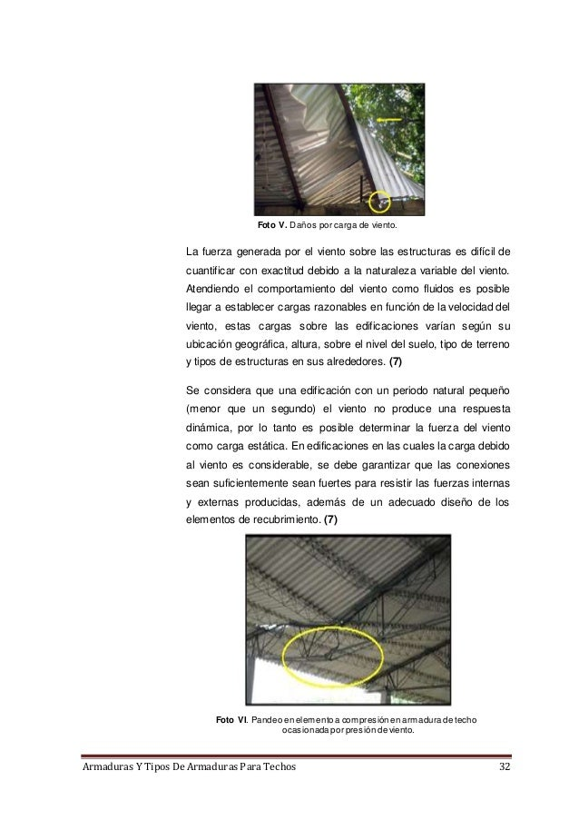 Armaduras y tipos de armaduras para techos for Tipos de techos