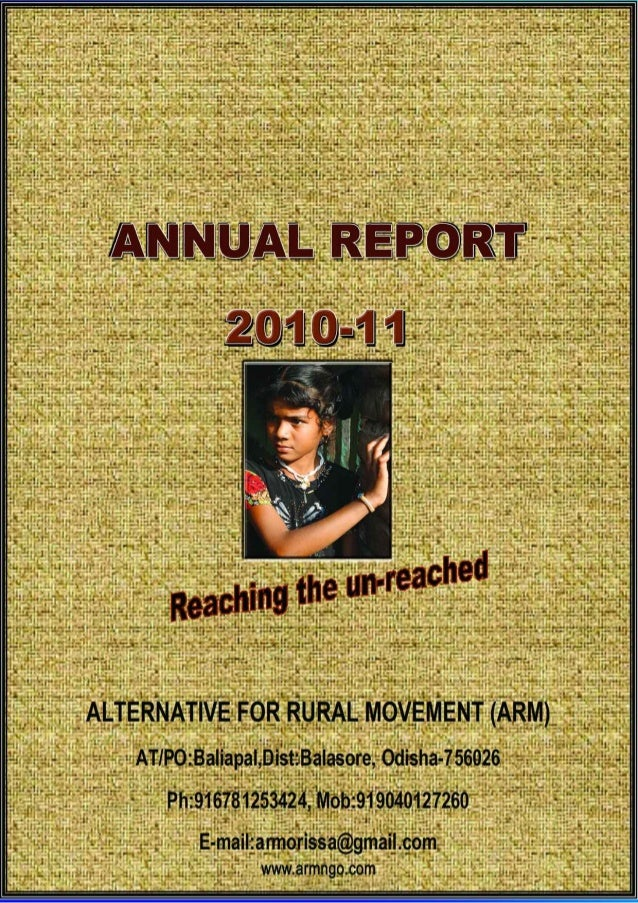 Arm annual report 2010 2011