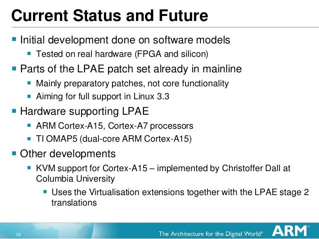 26 Current Status and Future  Initial development done on software models  Tested on real hardware (FPGA and silicon)  ...