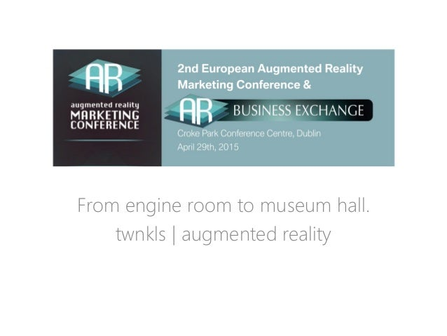 From engine room to museum hall. From engine room to museum hall. twnkls | augmented reality