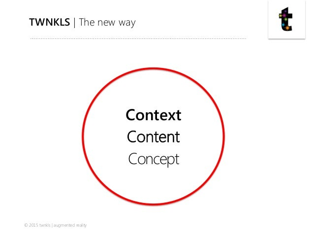 twnkls presentation to Augmented Reality Marketing Conference