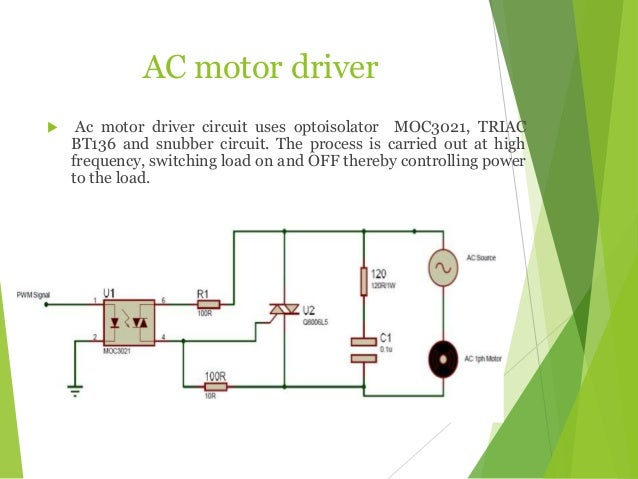Arm cortex lpc 2148 based motor speed control for Ac motor speed control methods
