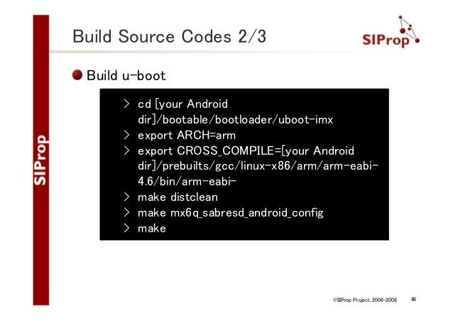 How To Build Android for ARM Chip boards