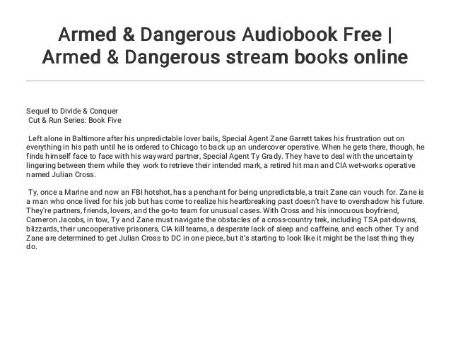 Armed & Dangerous Audiobook Free | Armed & Dangerous stream