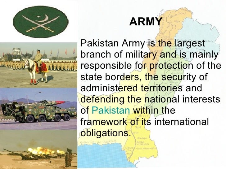 Essay on pakistan army