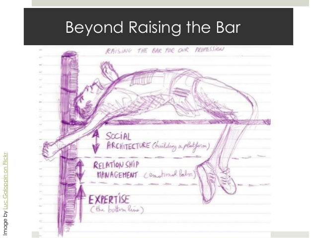 Image by Luc Galoppin on Flickr  Beyond Raising the Bar