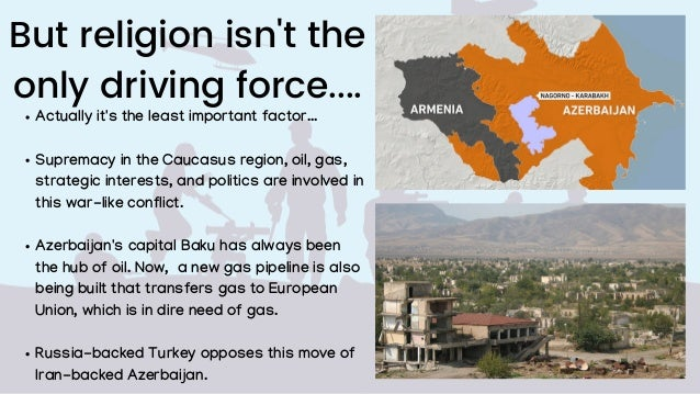 But religion isn't the only driving force.... Actually it's the least important factor... Supremacy in the Caucasus region...