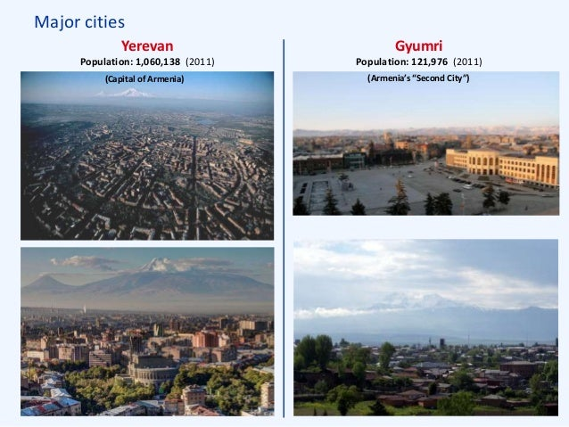 ... 41. Major cities Yerevan ...