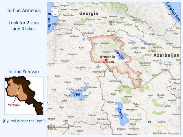 Armenia A History - Gyumri map