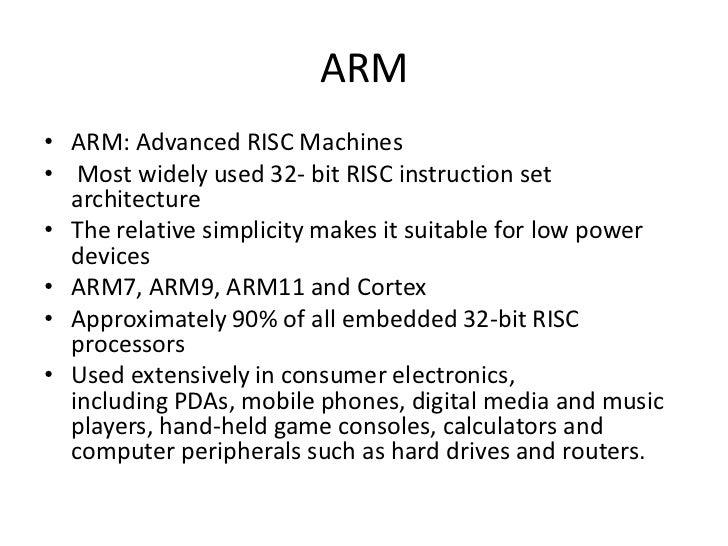 ARM Processor Slide 3