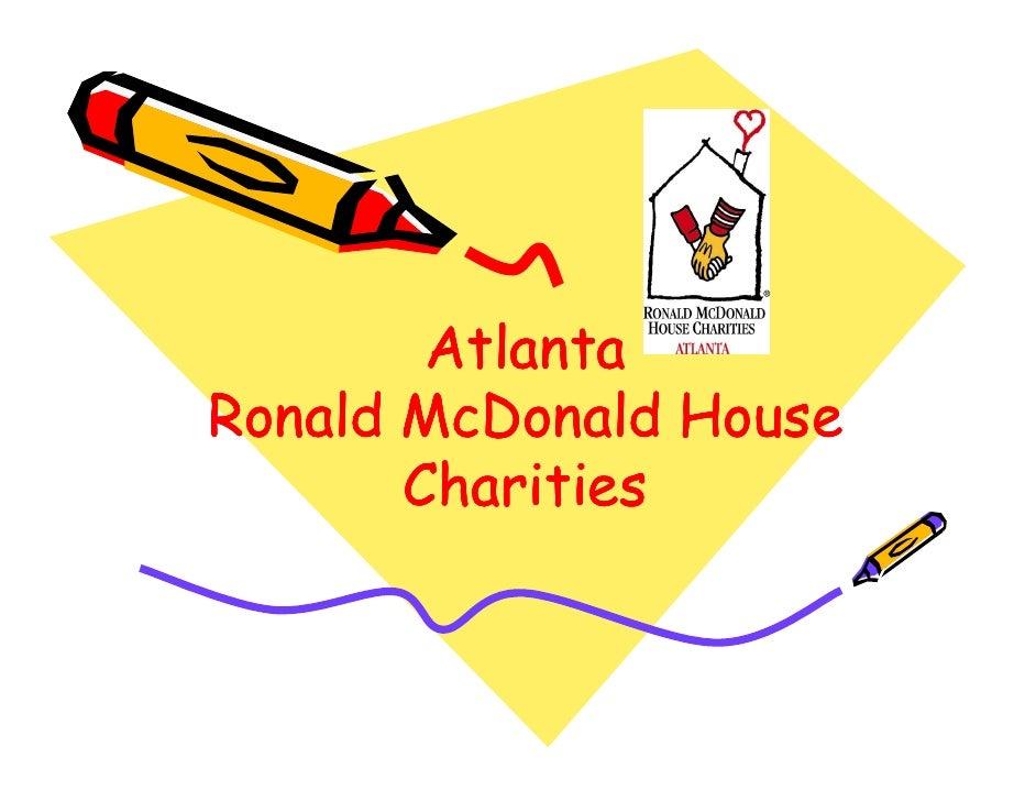 Atlanta Ronald McDonald House        Charities