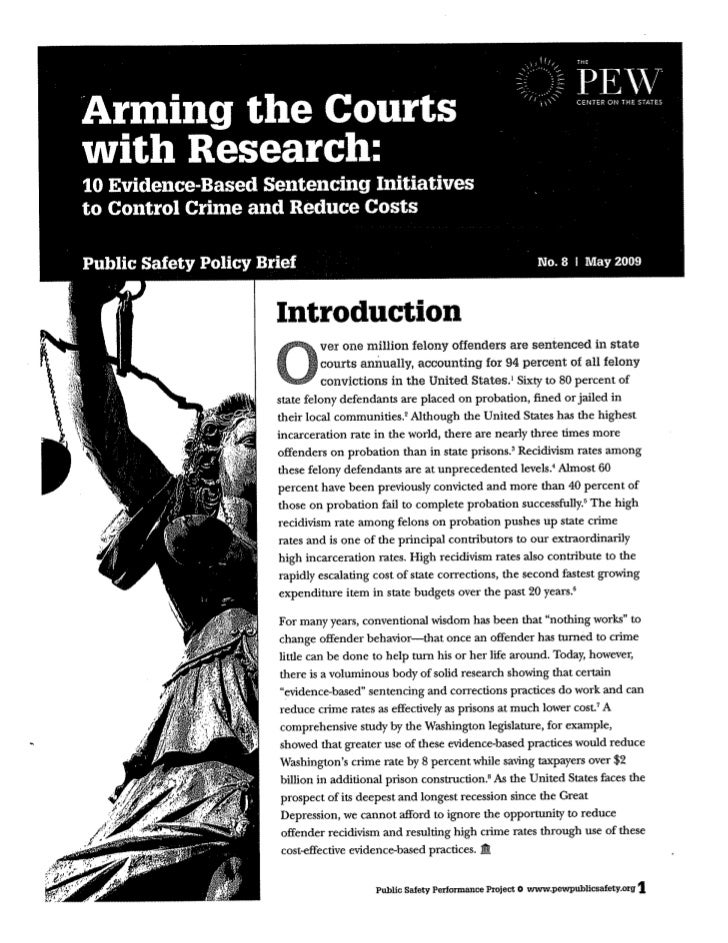 Arming the courts with research