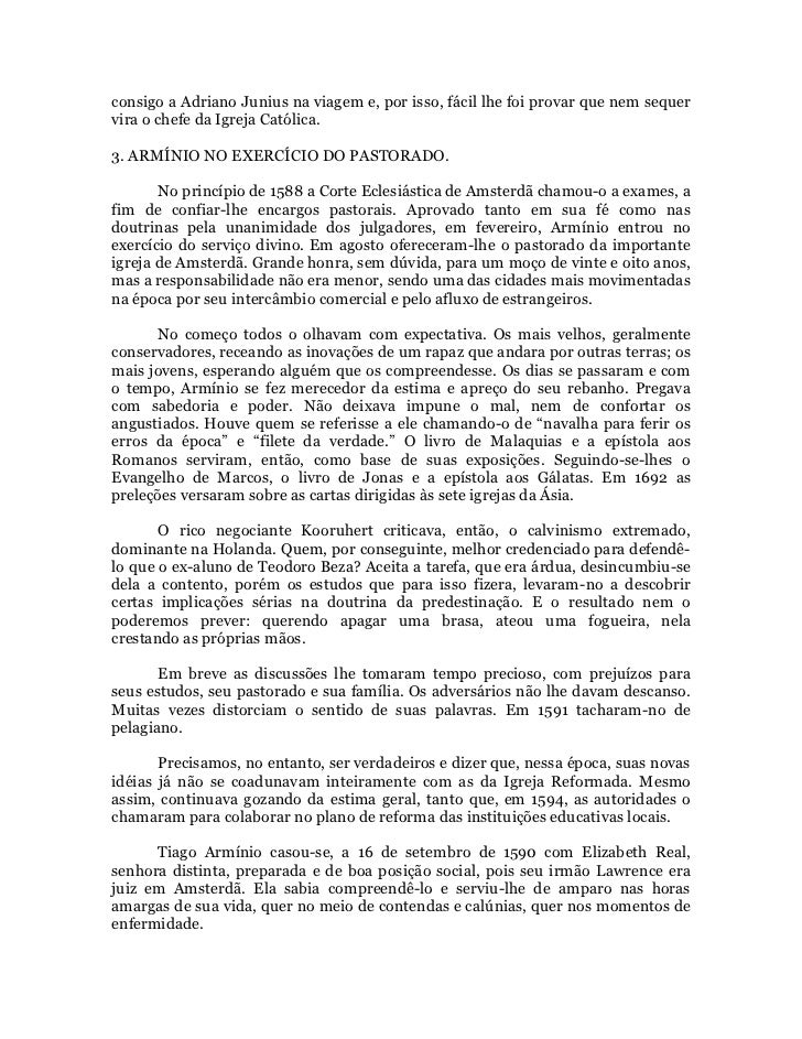 86faedc68 Arminianismo e metodismo josé goncalves salvador