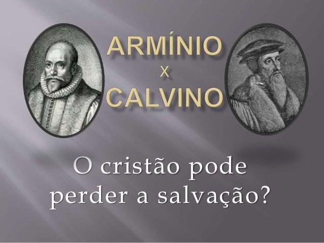 O cristão pode  perder a salvação?