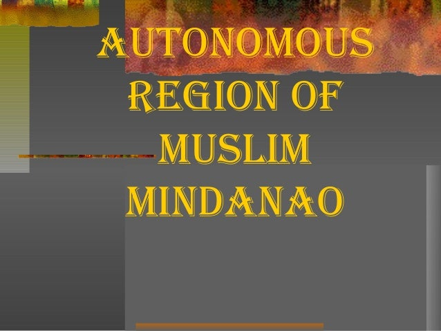 armm region The autonomous region of muslim mindanao region was first created on august 1, 1989 through republic act no 6734 otherwise known as.
