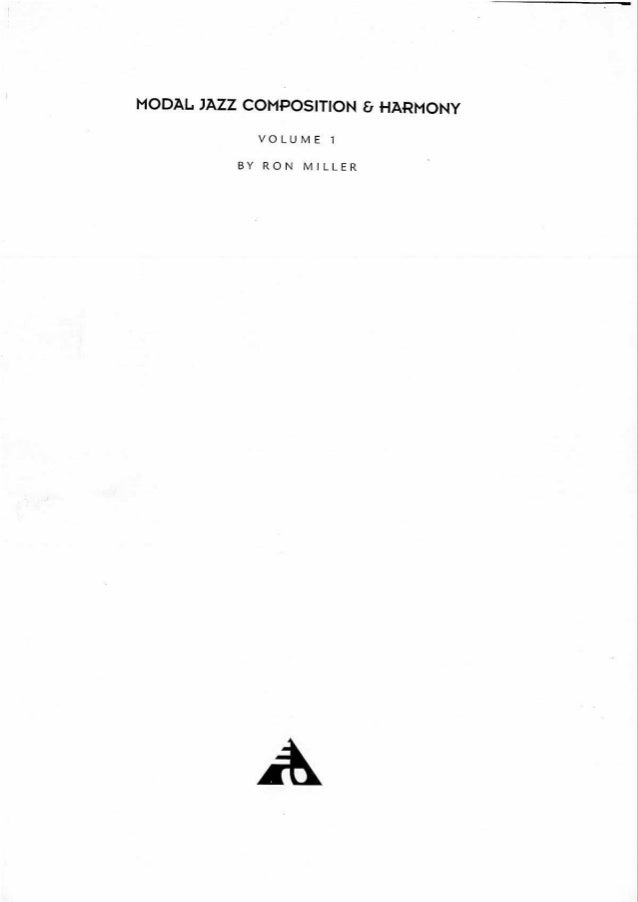 Armonia   ron miller - modal jazz composition & harmony - vo Slide 3