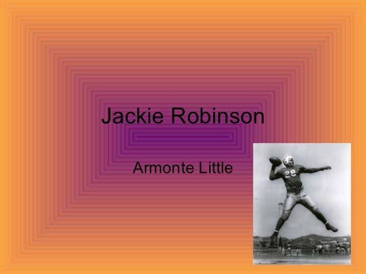 Jackie Robinson Armonte Little