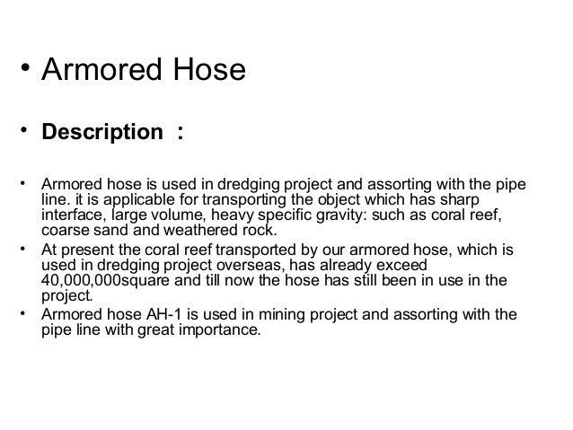 armored hose