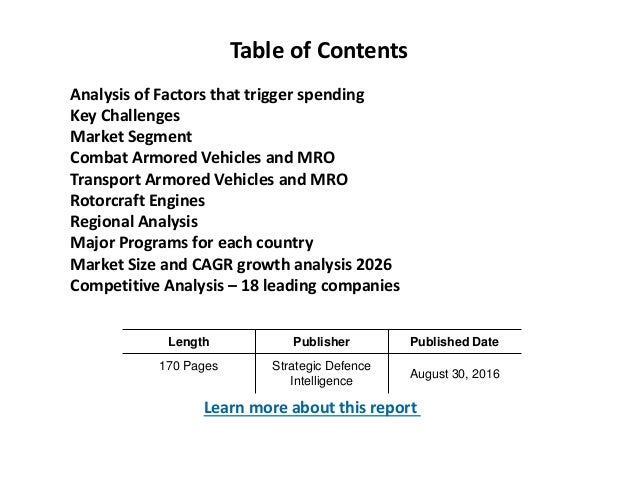 global military armored vehicles and counter Download presentation powerpoint slideshow about 'the global armored and counter ied vehicles market 2014-2024' - alishacash an image/link below is provided (as is.