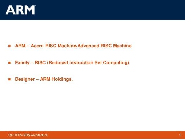 arm processor instruction set