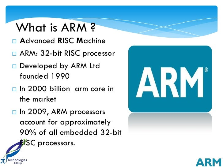 Arm Processor Architecture Awareness Session Pi Technologies - Arm processor architecture