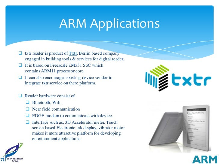 ARM Applications txtr reader is product of Txtr, Berlin based company  engaged in building tools & services for digital r...