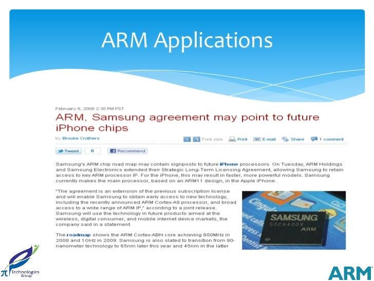ARM Applications