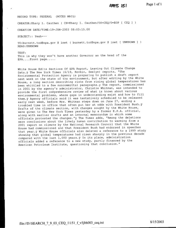 AW1S ist1            PagelIof I  RECORD TYPE:   FEDERAL   (NOTES MAIL)  CREATOR:Khary I. Cauthen    ( CN=Khary I. Cauthen/...
