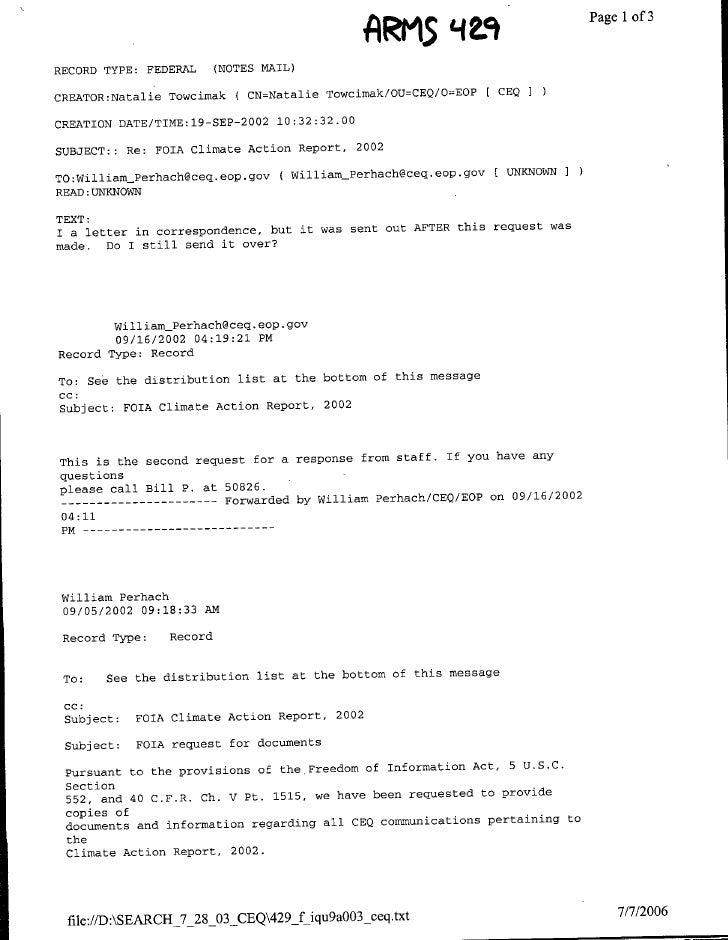ARI15                                                             '1L9             ~~~~Page 1 of 3  RECORD TYPE: FEDERAL  ...