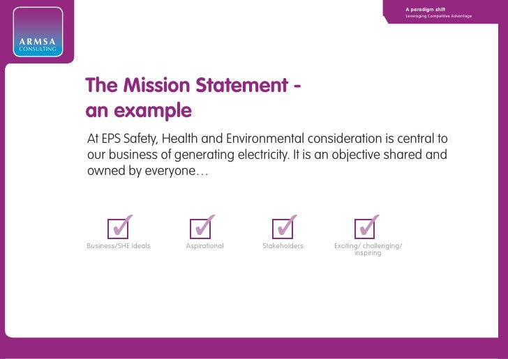 Consulting Mission Statement Examples Image Collections Example