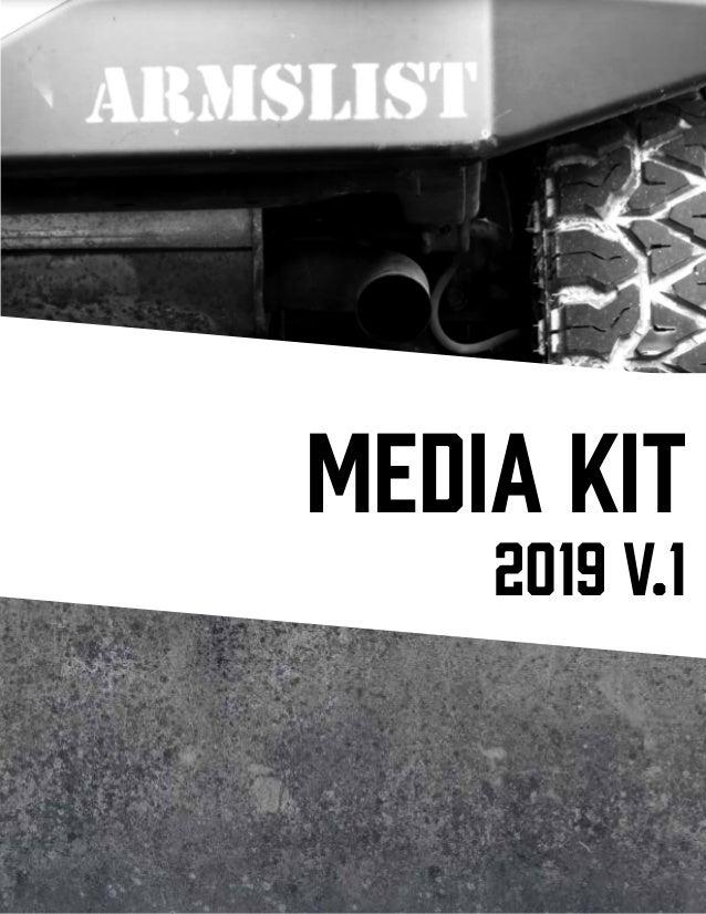 Armslist Media Kit 2019 v.1