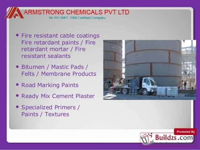 Fire Resistant Concrete Mix : Manufacturers of construction chemicals and waterproofing