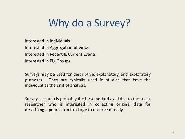 do research paper survey Section 2 of this paper develops the concept of qualitative survey to define this   the qualitative type of survey does not aim at establishing.