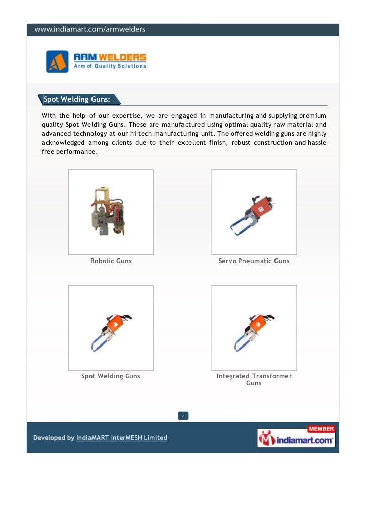 Arm Welders Pvt. Ltd., Pune, Seam Welding Machines Slide 3
