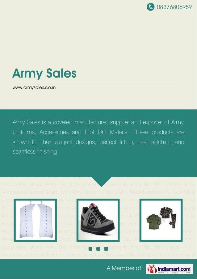 08376806959A Member ofArmy Saleswww.armysales.co.inArmy Ceremonial Dress Items Mountaineering Equipments Army Uniforms Arm...