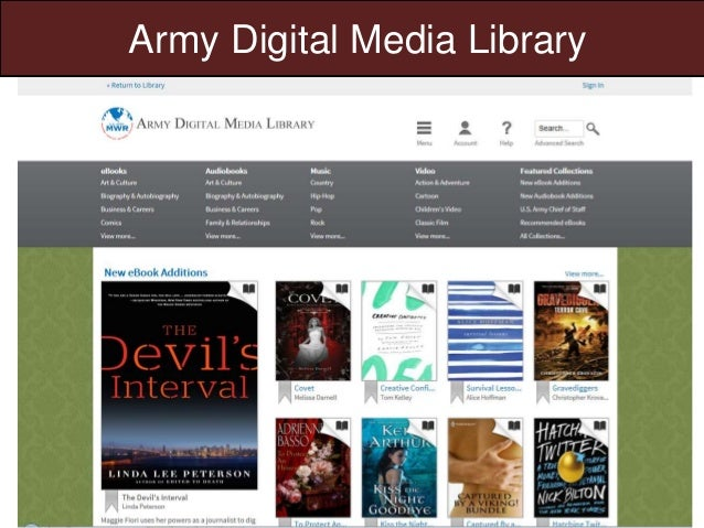 Army Digital Media Library