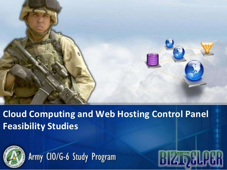 Cloud Computing and Web Hosting Control Panel Feasibility Studies