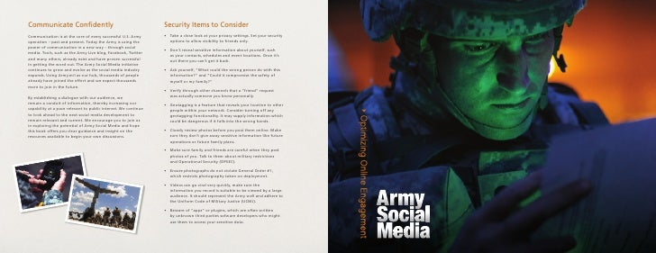 The Power of Army Social Media                                                                              The Ripple Eff...