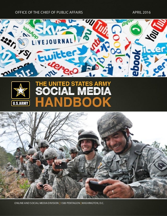 The United States Army Social Media Handbook 2016