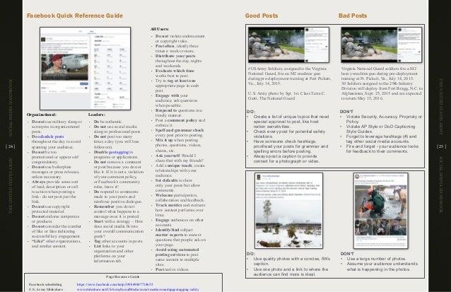 The United States Army Social Media Handbook 2016