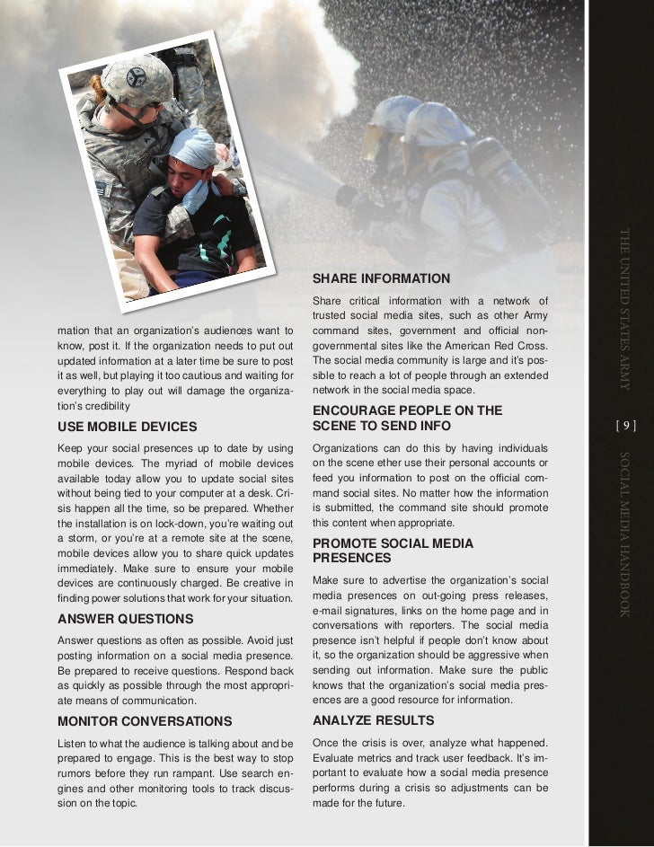 The UniTed STaTeS army                                                          sHARE infoRmATion                         ...