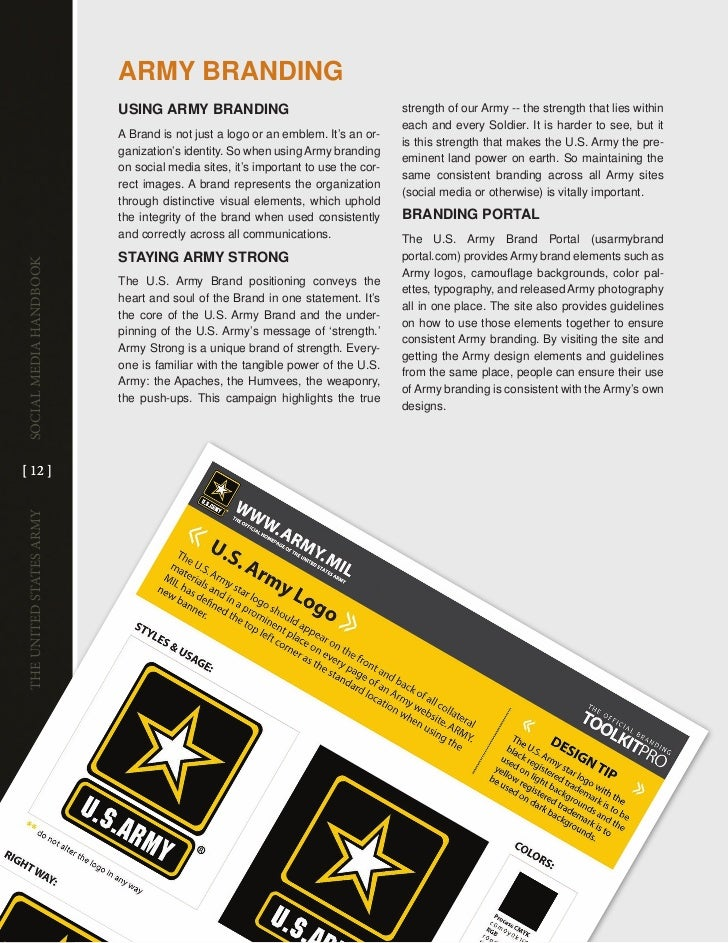 ARmy bRAnDinG                         usinG ARmy bRAnDinG                                     strength of our army -- the ...