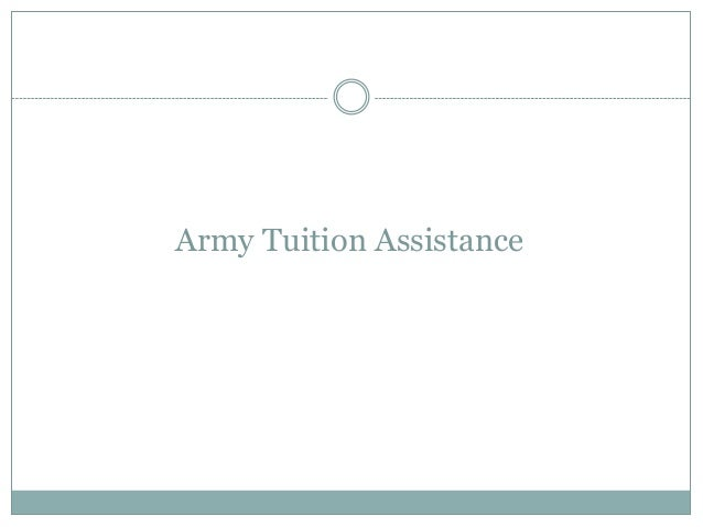 Army Tuition Assistance